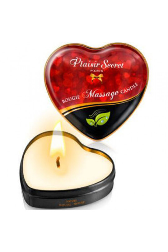 "Plaisirs Secrets Massage Candle ""Nature"", 35мл."